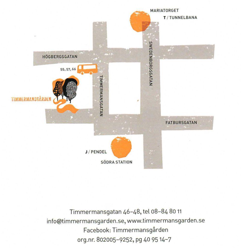 Karta Timmermansgarden